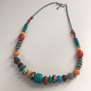 Colorful statement necklace NEW